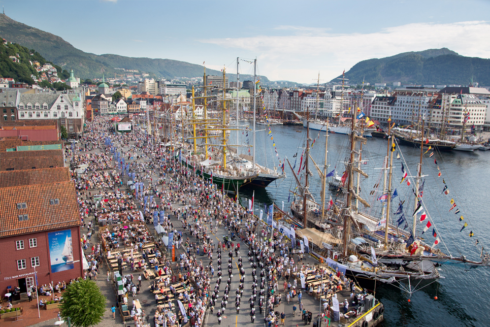 Bergen Crew Parade, Tall Ships Races 2014