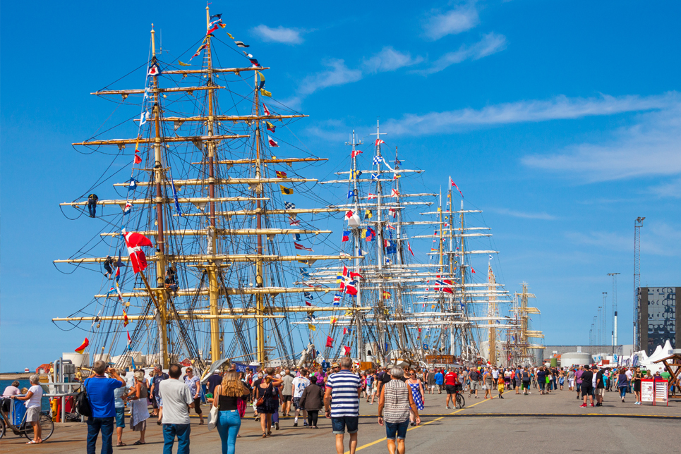 Tall Ships in Esbjerg