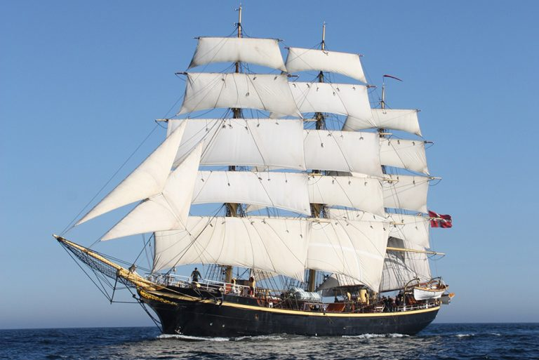Tall Ship Georg Stage
